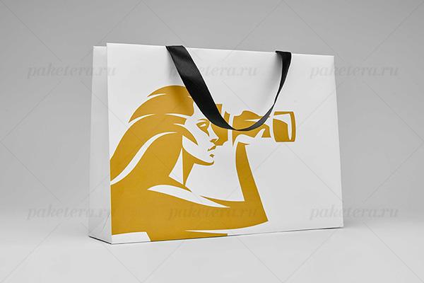 Бумажные крафт пакеты с логотипом