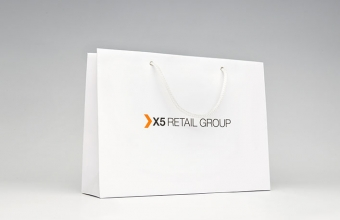 X5 RETAIL GROUP, Размер 350 х 250 х 70 мм