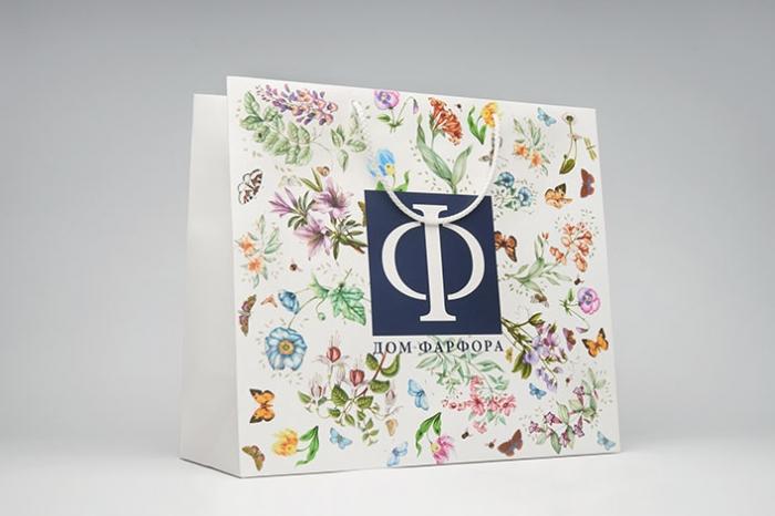 Пакеты открытки логотип